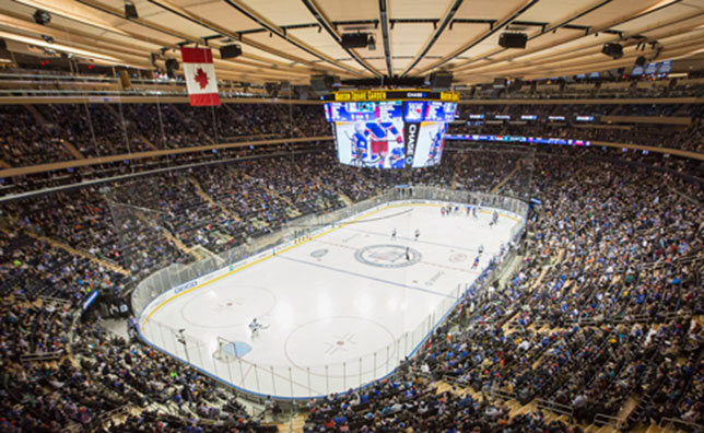 Rangers Madison Square Garden   Rangers Announce 2017 18 Season Schedule.  New York Rangers Virtual